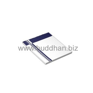Elegant Blue Stripes Notepad
