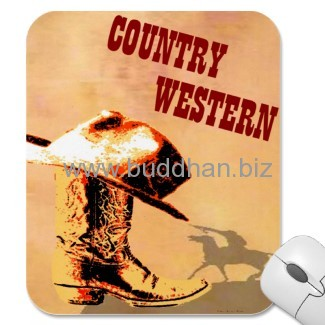 Country Western Mousepad