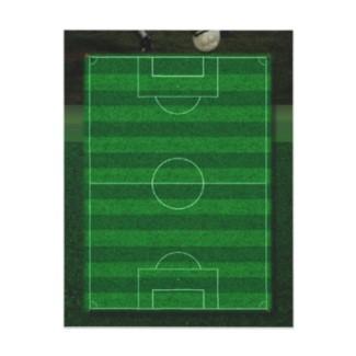 Soccer Field Letterhead
