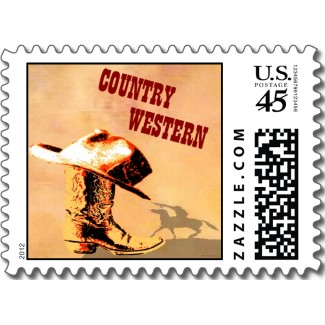 Country Western Postage