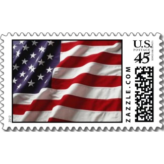 USA Flag – Postage