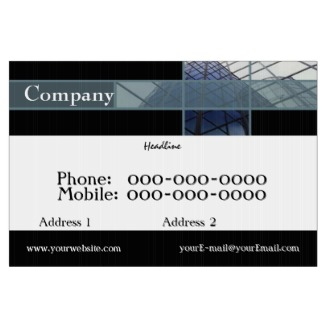 Commercial Yard Sign
