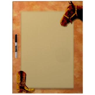 Western Dry Erase Board