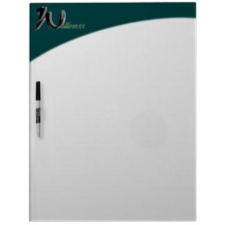Wellness Dry Erase Board