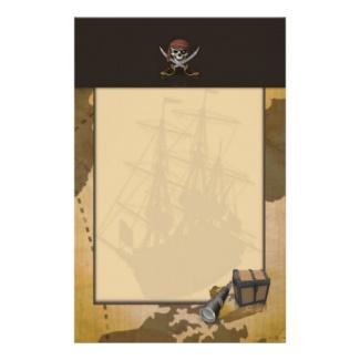 Treasure Hunt Stationery
